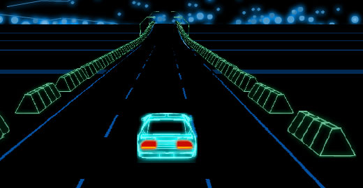 Neon Race, Top 10 Driving Games, Casual Girl Gamer