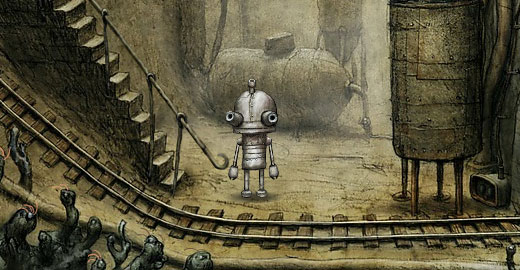 Machinarium, Top 10 robot games, Casual Girl Gamer