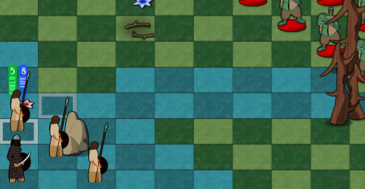 Squares and Blade, Top 20 free-to-play RPG browser games, Casual Girl Gamer