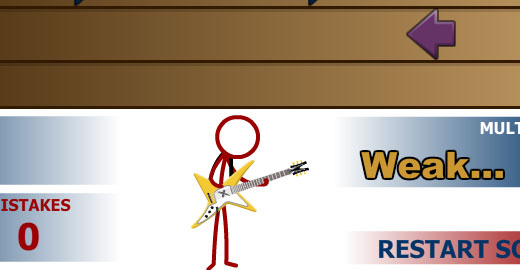 Super Crazy Guitar Maniac 3, Top 10, Top 20 music games you can play online, Casual Girl Gamer