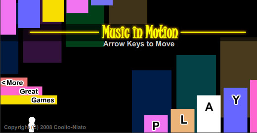 Music in Motion, Top 10, Top 20 music games you can play online, Casual Girl Gamer