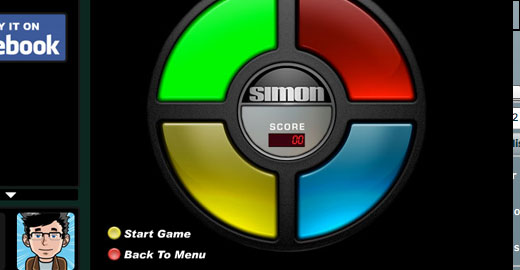 Simon Extreme, Top 10, Top 20 music games you can play online, Casual Girl Gamer