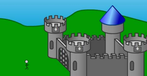 game where you build a castle and defend it